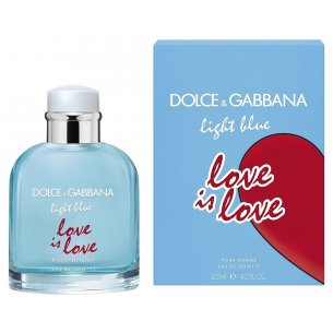 Dolce & Gabbana Light Blue Pour Homme Love is Love